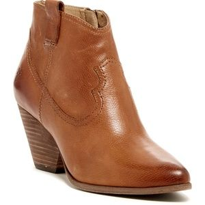 NEW Frye Reina Western Bootie Ankle Boots